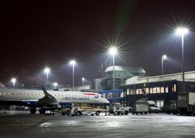Glasgow Airport increases visibility and reduces energy costs