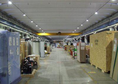 Biesse SpA risparmia l'81% di energia con l'illuminazione efficiente Greenled